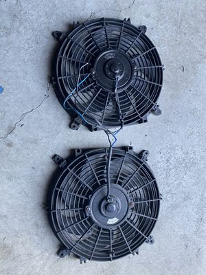 Dual 12v slim fans for Sale in Antioch, CA
