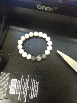 White howlite bracelet for Sale in Lakewood, CO