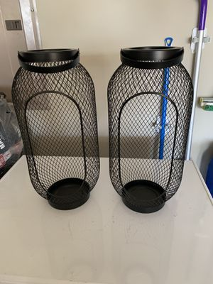 IKEA Brand Candle Holders For Outside for Sale in Frisco, TX
