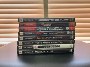 PlayStation Game Bundle (PS2) for Sale in Miami, FL
