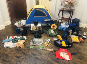 CALLING ALL CAMPERS! SPRING BREAK is COMING!! Camping Gear PACKAGE DEAL! All for one incredible price! ( NO individual parts for sale. All or nothing for Sale in Allen, TX