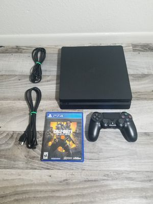 🚩 Ps4 Playstation 4 Slim With 4 Games 🚩 for Sale in Phoenix, AZ