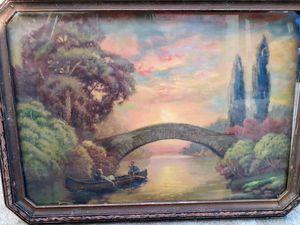 Andrew Matthews 1920 painting for Sale in Philadelphia, PA