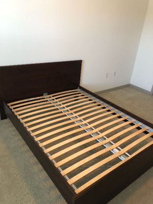 IKEA Queen Bed Frame - Used but in good condition. Need to get rid of quickly!!! for Sale in Oceanside, CA