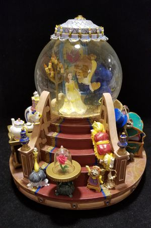 1991 Disney Musical Beauty & Beast Snow Globe in Box for Sale in Sacramento, CA