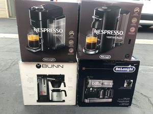 Nespresso Delonghi Vertuo Plus Essenza Coffee Makers for Sale in Costa Mesa, CA