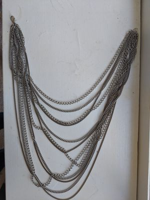 Mixed metal necklace with silver and bronze for Sale in Washington, DC
