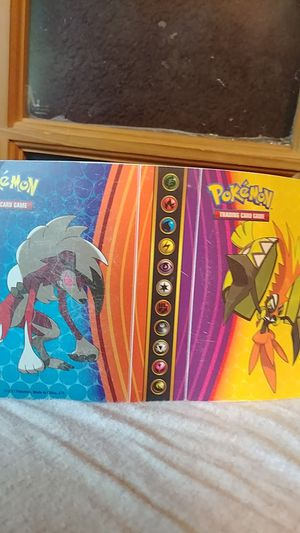 Pokemon trading card small folder for Sale in Stockton, CA