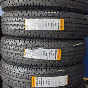 "18"" West Lake size ST235/60-18 Trailer Tires $380 Installed for Sale in Westminster, CA"