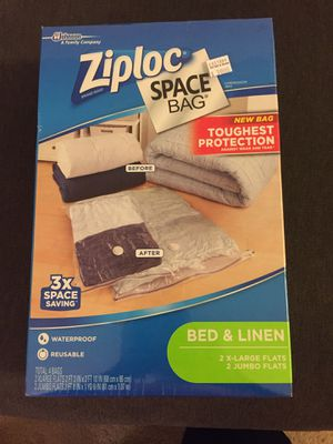 Ziploc Space Bags Brand New for Sale in Los Angeles, CA