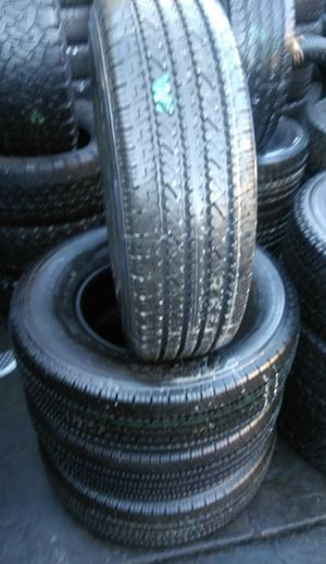 Set of semi new Bridgestone LT 245/75/16 for Sale in South Gate, CA