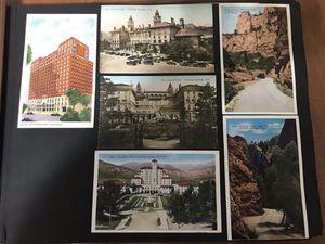 70 Vintage Postcards in ScrapBook for Sale in Middletown, CT