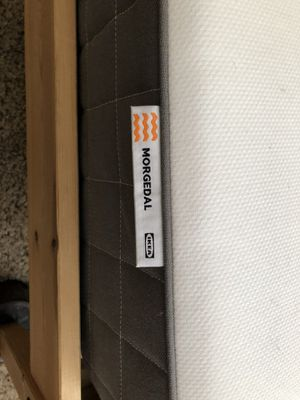 Twin bed with mattress (Ikea) for Sale in San Francisco, CA