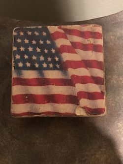 Set of 4 American Flag Coasters for Sale in Shoreline,  WA