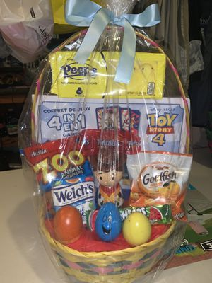 Toy story 4 easter basket for Sale in Lake View Terrace, CA