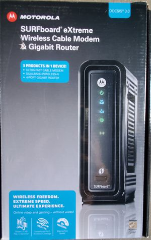 Motorola modem and router for Sale in National City, CA