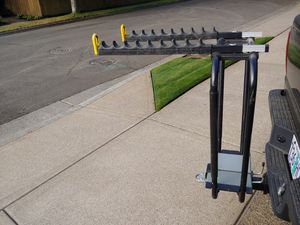 Hitch Mount bicycle rack made by Land Rover for Sale in Beaverton, OR