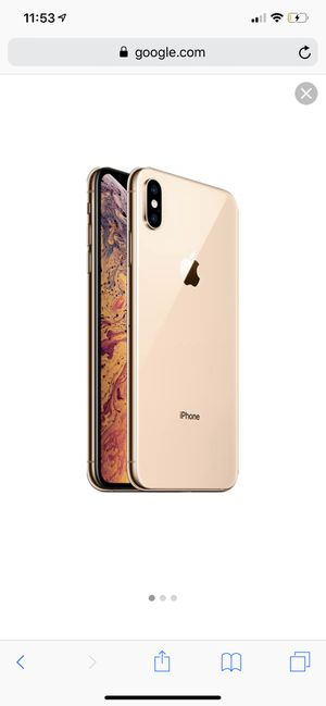 Gold iPhone XS Max. 64 GB. Unlocked. Can use with any carrier! for Sale in San Diego, CA