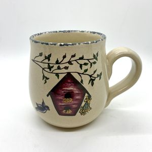 Birdhouse cup mug pottery for Sale in Bolton, CT