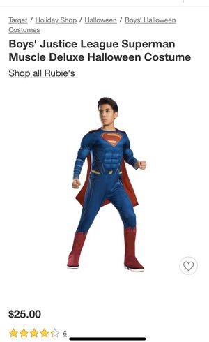 Superman Halloween costume new for Sale in Fresno, CA