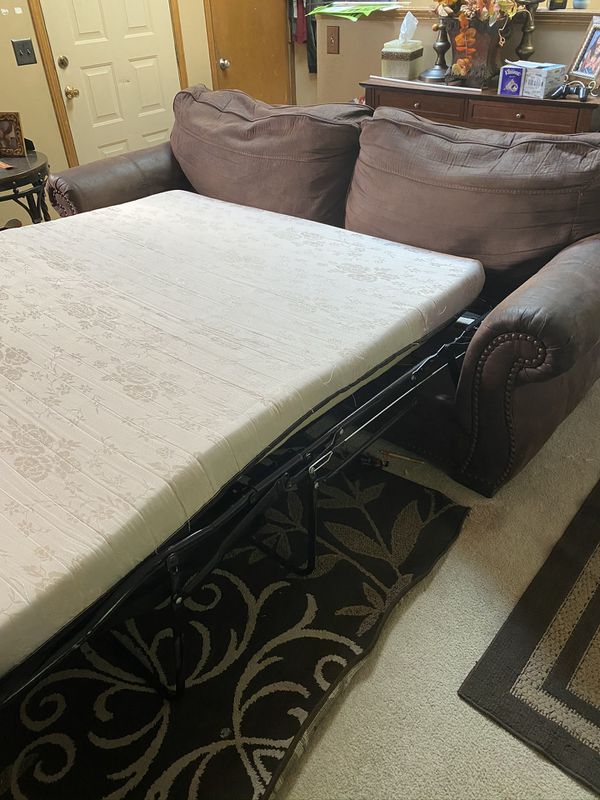 Pull out Sofa bed and Love seat