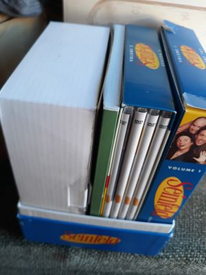 Dvds whole collection of Seinfeld for Sale in Ontario, CA