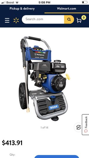New pressure washer 3200 psi $290 cash for Sale in West Valley City, UT