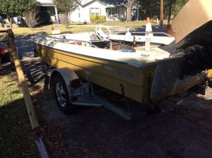 73 model 16 foot Bass boat for Sale in Fort Worth, TX
