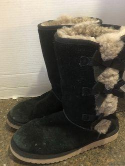 Koolaburra By Ugg Women's Black Suede Boots Size 7 for Sale in Manassas,  VA
