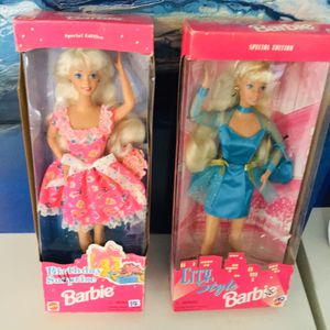 1980's Boxed Barbie pair Birthday Surprises and City Style for Sale in Garland, TX