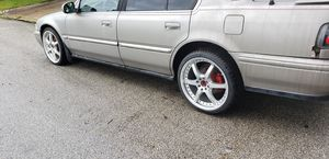 Nice universal rims with 2 brand new tires for Sale in Azalea Park, FL