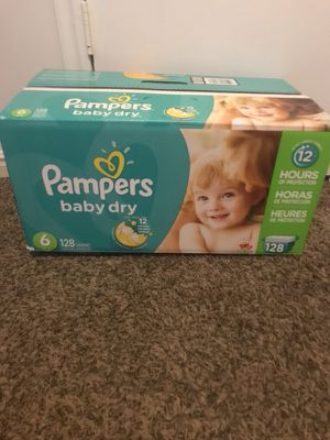 Pampers size 6 only took 1 out so 127 left $30 really good deal for Sale in Murray, UT