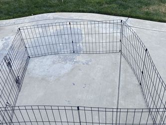 "18""H Indoor & Outdoor Pet Exercise Play Pen for Sale in Stockton,  CA"