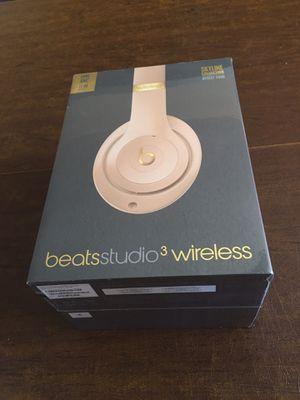 Beats studio 3 wireless headphones for Sale in Fremont, CA