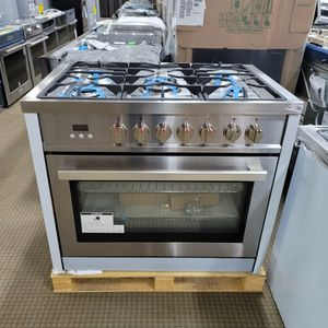 """36"""" gas stove ready for pickup or delivery for just $50 down with no credit check for Sale in Houston, TX"""