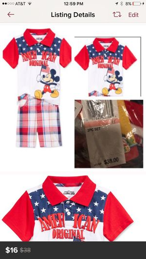Mickey Mouse shorts and shirt for Sale in Los Angeles, CA