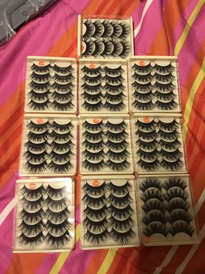 100 Eyelashes 50 Pairs for Sale in Garden Grove, CA