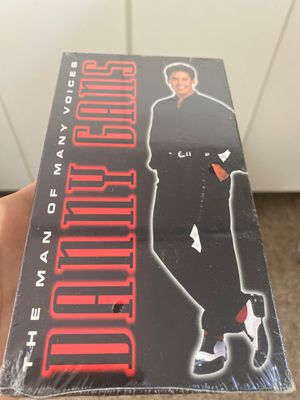 Danny Gans The Man of Many Voices VHS highlights live concert Las Vegas rare for Sale in Las Vegas, NV