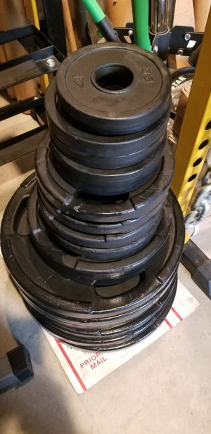 385LB GP RUBBER OLYMPIC WEIGHTS PLATES SETS for Sale in Queens, NY