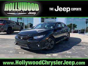 2017 Honda Civic Hatchback for Sale in Hollywood, FL