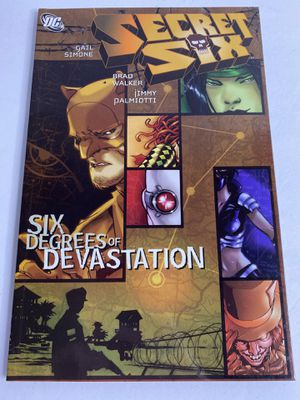 Secret Six Six degrees of Devastation comic, signed for Sale in Frederick, MD