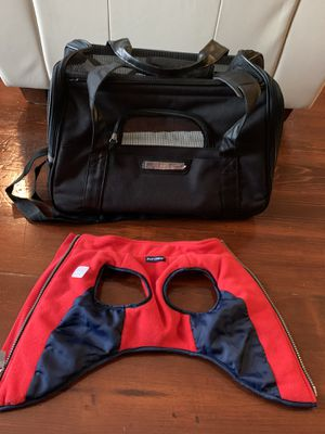 Small Dog Carrier and Jacket for Sale in San Juan Capistrano, CA