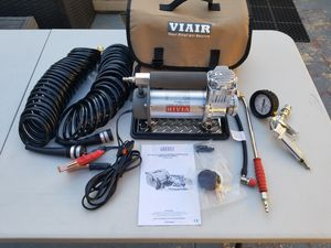 New Viair 400P-RV automatic portable 12v compressor tire inflator gauge for Sale in South Pasadena, CA