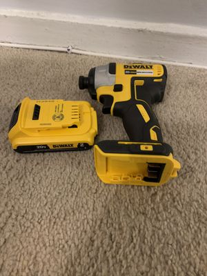 Impact drill and battery for Sale in Silver Spring, MD