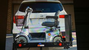 Silver springs steel deluxe folding scooter and wheelchair carrier for Sale in Pinellas Park, FL