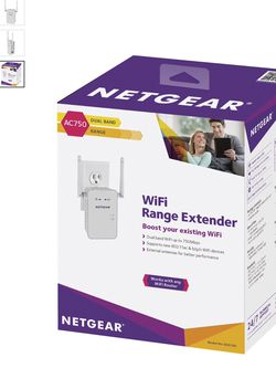 NETGEAR AC750 Dual-Band WiFi Range Extender for Sale in Winthrop,  MA