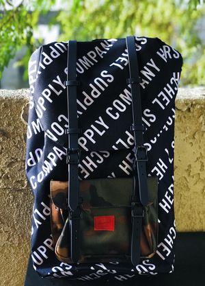 Herschel Little America - Roll Call Peacoat/Woodland Camo for Sale in Pasadena, CA