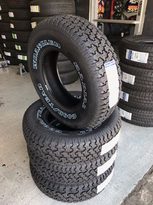 BRAND NEW SET OF GOODYEAR TIRES 235/75/15 for Sale in Rialto, CA