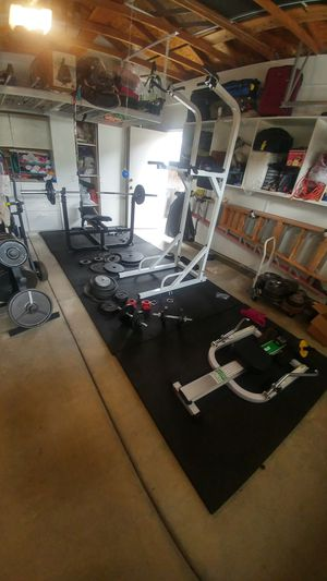 Rubber gym mats, 4x6, heavy-duty for Sale in Elk Grove, CA