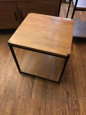 Metal and wood furniture for Sale in Queens, NY